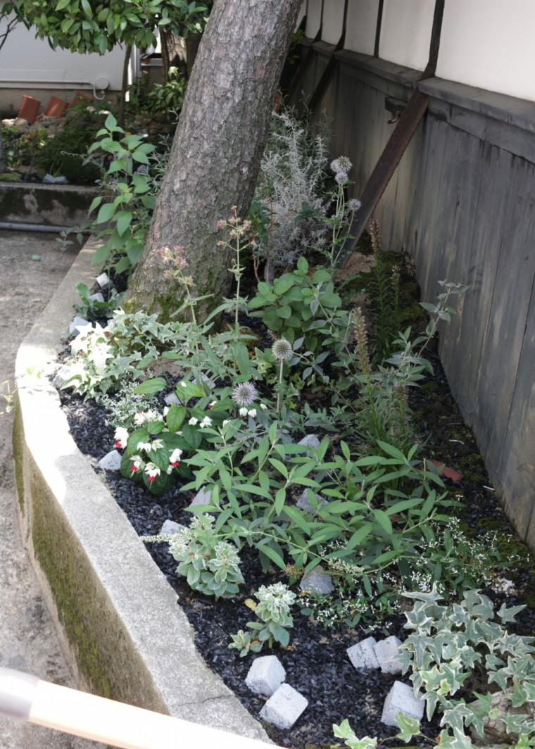ガーデン装飾「日吉歯科診療所 酒田市」