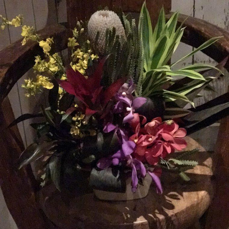 5月の通販レッスンのお花
