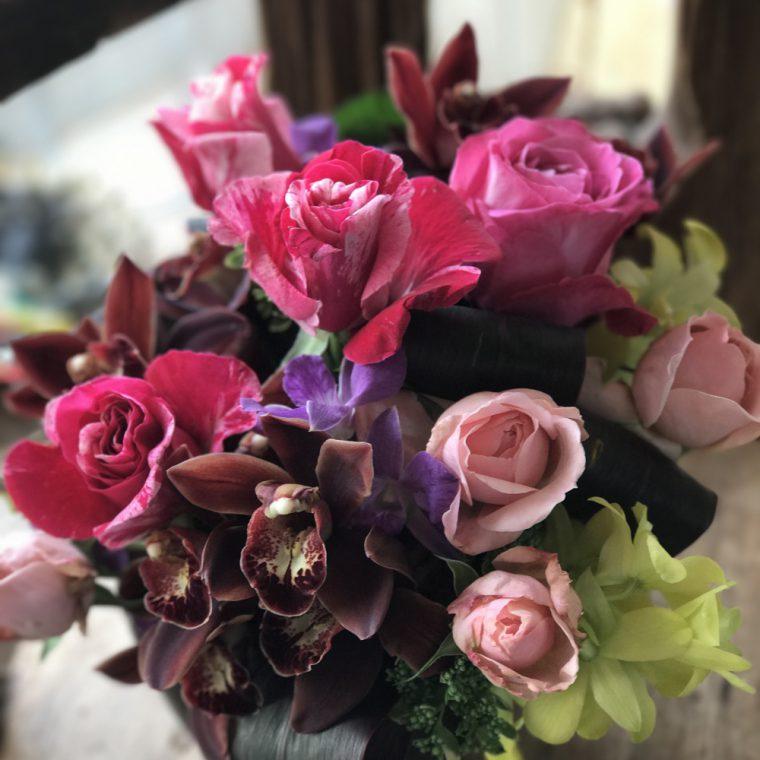 4月の通販レッスンのお花の紹介