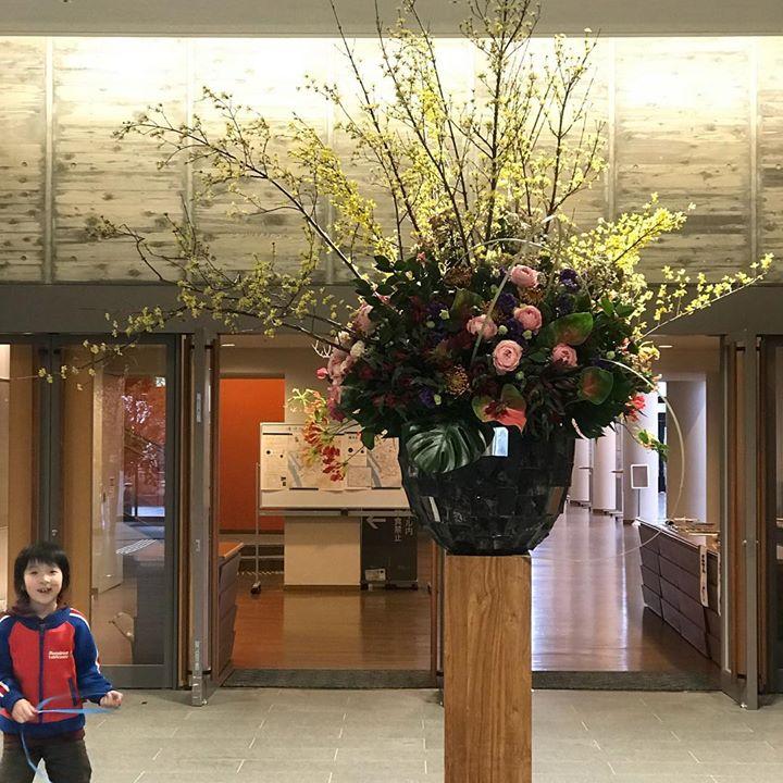 KAIZEN CRUISE#酒田 #lotusgarden #おもてなし #フローリスト#art #希望ホール #和モダン#modan#japan #flower#design