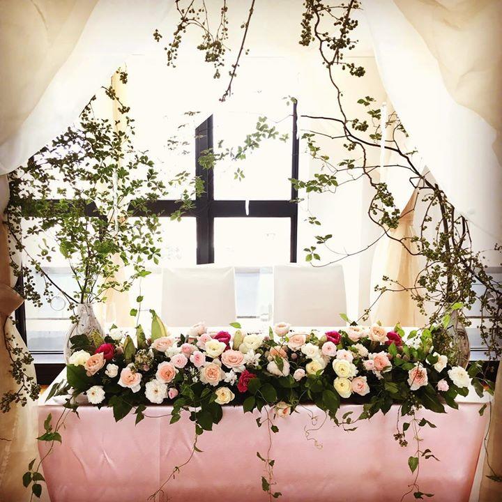 #hatakeyamahideki #richweddings #lotusgarden #会場装飾#かわいい #sweet