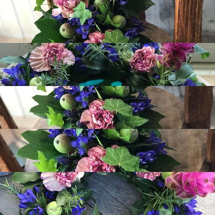#リースレッスン #lotusgarden #ロータスガーデン #秋のお花でリース作り
