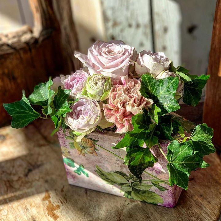 #lotusgarden #フローリスト #デコパージュ #インテリア雑貨