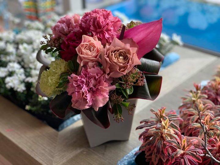 寒〜い時期でもお花でココロがホンワカ。