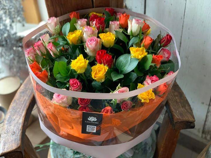 ありがとうを花に託して。